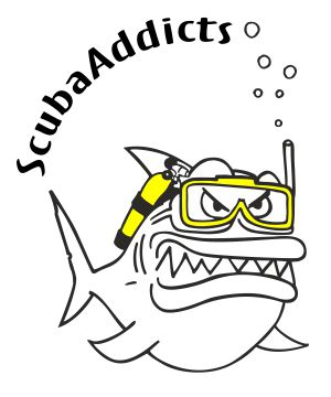 ScubaAddicts Diving Adventures Logo